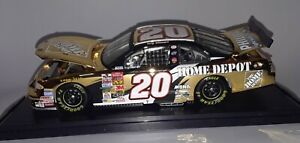 Tony Stewart #20 Home Depot/ 2002 Winston Cup Championship Grand Prix 24KT Gold