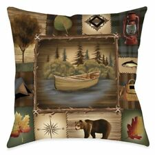 Laural Home Camping Trip Indoor Decorative Pillow