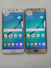 Lot of 2 Samsung Galaxy S6 Edge G925P 32GB Sprint Check IMEI Grade D LR-1447