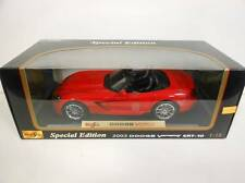 Maisto 2003 Dodge Viper SRT-10 Red (Die-cast - 1:18 Scale)