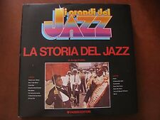 "LA STORIA DEL JAZZ - LP - Fabbri- Collana "" I GRANDI DEL JAZZ""- Ex/Ex +  Polillo"