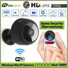 Mini Wifi IP Kamera Wireless 1080P HD Home Überwachungkamera Nachtsicht Spy Cam