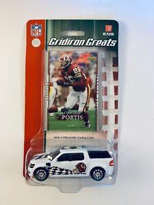 2007 Upper Deck NFL Gridiron Greats Car Card Clinton Portis WASHINGTON REDSKINS