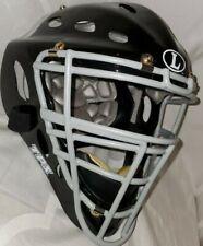 "Louisville Slugger Matte Black TPS Catcher's Helmet 7 1/8"" To 8"""