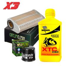 Kit tagliando Bardahl XTC C60 15W50 filtro olio aria Honda CBR/CBF 600 N/S/F