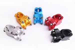 Aluminum 25.4/31.8*38mm MTB Mountain Road Bike handlebar stems Bicycle bar Stem