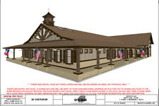 BRN 05C-HOUSE FLOOR PLANS-SQFT-2,366 3 BEDRM, 3 BATH 1 STORY,BARNDOMINIUM, RANCH