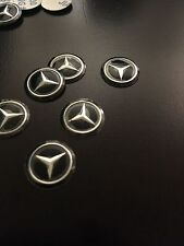 1PC 14MM Mercedes Benz Remote Flip Key Fob Case Logo Badge Sticker Emblem
