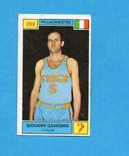 CAMPIONI SPORT 1969-70-PANINI-Figurina n.299- GAVAGNIN -ITALIA-PALLACANESTRO-Rec