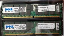 8GB Kit [2x4GB] DDR2-400 PC2-3200 ECC 240 Pin 1.8V CL=3 ECC RAM Memory DELL