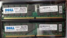 8GB Kit [2x4GB] DDR2-400 PC2-3200 ECC 240 Pin 1.8V CL=3 ECC RAM Memory DELL