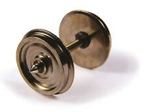Bachmann 36-033 -10 x (Axles) 14mm Turned Disc Coach Wheels - Tracked 48 Post