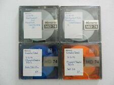 Used Blank Memorex 74 minute MiniDiscs (x4) Grateful Dead EUROPE 1972