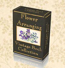 37 Vintage Books Flower Arranging Floristry Floriculture Corsage Bouquet Old 236