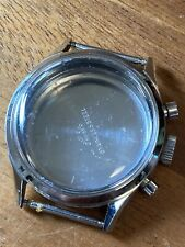 Vintage Gallet Chronograph  Watch Stainless Case Valjoux 7736 For Parts