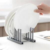 Dish Drainer Plates Cups Utensil Cutlery Holder Kitchen Sink Drying Rack WT