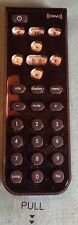 Universal Xm remote control onyx xmp3 Xpress etc. W/ new battery. Extra Buttons