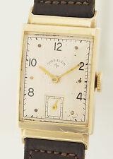 Lord Elgin Art Deco Design Orologio da polso in 14ct ORO - 1940er anni-CALIBRO 626