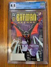 Batman Beyond Special Origin #1 CGC 8.5 1st Appear Terry McGinnis DC Comics 1999