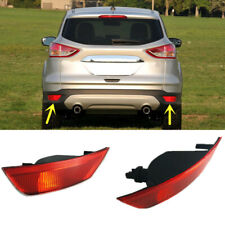 For Ford Escape 2013-2016 Red Lens Rear Bumper Reflector Rear Warn Fog Lights W