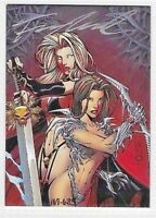 Lady Death Medieval Witchblade Francis Manapul A5 Autograph Card       RARE