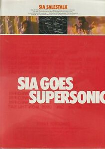 SINGAPORE AIRLINES GOES SUPERSONIC BROCHURE /CONCORDE SCHEDULE - DECEMBER 1977
