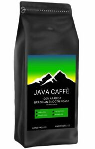 Java Caffe Brazilian Smooth Roast Coffee Beans (1kg) FREE DELIVERY, HAND ROASTED