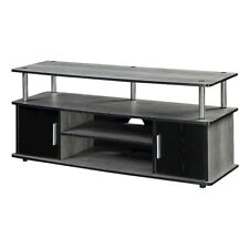 Convenience Concepts Designs2Go Monterey TV Stand, Gray/Black - 151401WGY