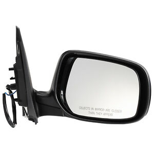 2009-2013 Toyota Corolla Passenger Side Power Non Heated Mirror Assembly