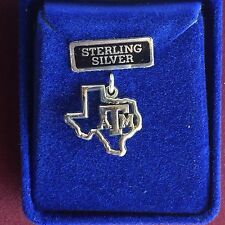 Jewelry Sterling Silver Texas A&M University Texas ATM Charm Aggie TAMU Charm