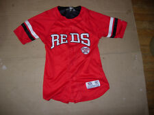 Cincinnati Reds Youth Extra Small Red GENUINE Jersey by TRUE FAN,RITE PRICE