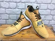 Nike pour hommes uk 8 eu 42.5 blé cuir free ace baskets rrp £ 92