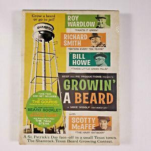 Growin' a Beard, Documentary 2003, 2-Disc [DVD & CD] New Sealed - Free Shipping