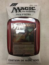 French Magic The Gathering 2015 Theme Deck Flames Of The Dragon Tcg