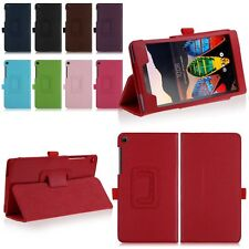 Folding Stand PU Leather Case Cover For Lenovo Tab 3 730M 7-inch Tablet 2016