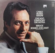Carlo Maria Giulini Berlioz Romeo & Juliet 33RPM SFO36038  012217LLE