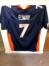 John Elway Autographed Authentic Reebok Jersey JSA LOA