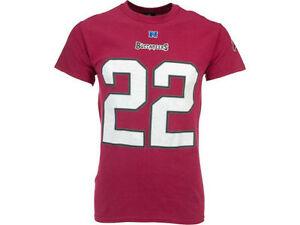 TAMPA BAY BUCCANEERS DOUG MARTIN #22 NFL MENS TEAM APPAREL SHORT SLEEVE SHIRT