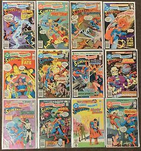 DC Comics Presents Superman & #16,17,18,22,23,24,25,28,29,31,32,33 Wonder Woman