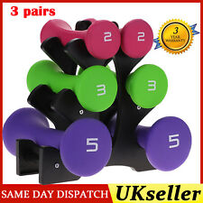 2-5kg Dumbbell Ladies Hand Weights - Fitness Home Gym Strength Aerobic Training