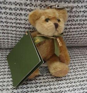 HARRODS BEAR - TINY BEAR - KEYRING - HONEY