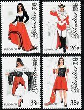 SELLOS TEMA EUROPA 1998 GIBRALTAR  FESTIVALES 4v.