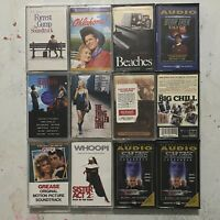 Lot of 12 Vintage Motion Picture Soundtracks Cassette Tapes Classic Movies Music