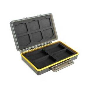 JJC BC-3SD6AA Kunststoffetui für 6 SD- Karten und 8 AA-Akkus/oder Batterien