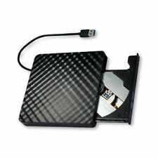 Slim DVD Burner Usb3.0 Corrugated External Drive Black