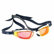 MP Michael Phelps Xceed Swimming Goggle Smoke Red Lense Blue White