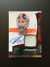 2010 10 11 The Cup Sergei Bobrovsky *Jersey Number 72/99* Rookie RC Auto Patch