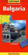 Bulgaria GeoCenter Euro Map (GeoCenter Euro Maps), Mairs, New Book