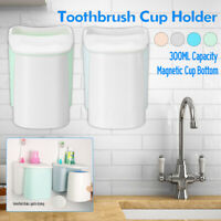 Toothbrush  ABS Plastic Magnetic Suction Wall Mounted Gargle Cup