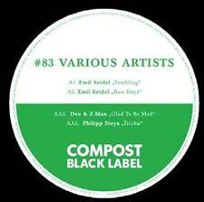 SEIDEL/DEO & Z-MAN/PHILIPP STOYA , EMIL - COMPOST BLACK LABEL 83 NEW VINYL RECOR